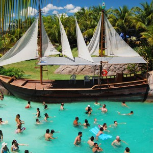 Imagem representativa: As margens do Lago Corumbá está o Náutico Praia Clube | Conhecer Agora