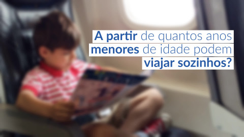 Imagem representativa: A partir de quantos anos menores de idade podem viajar sozinhos?