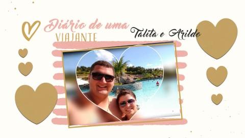 Imagem representativa: Diário de Uma Viajante começa contanto a história de amor da Talita e Arildo