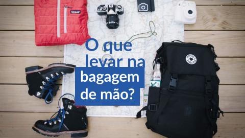Imagem representativa: O que levar na bagagem de mão? Veja minhas dicas!