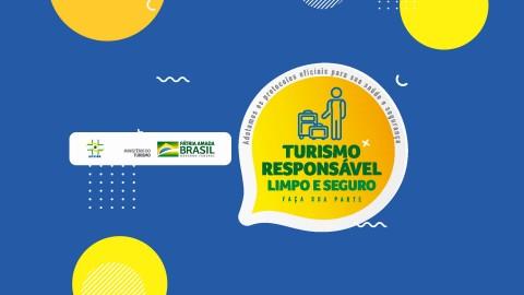 Imagem representativa: Turismo responsável, limpo e seguro | Faça sua parte