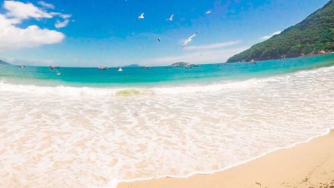 Praia dos Ingleses em Florianópolis - Santa Catarina