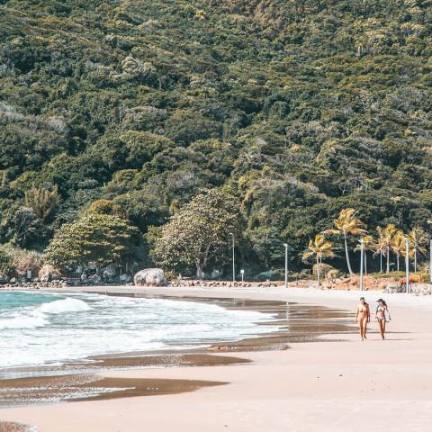 Imagem representativa: Nas areias de #Floripa você encontra o cenário perfeito para suas féri