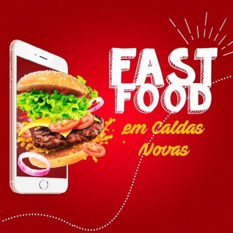 Imagem representativa: #DicasLU - Dicas das principais redes de Fast-Food em Caldas Novas | Conhecer Agora