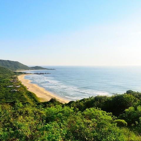 Imagem representativa: Nas areias de Floripa - Praia Mole | Conheça Agora